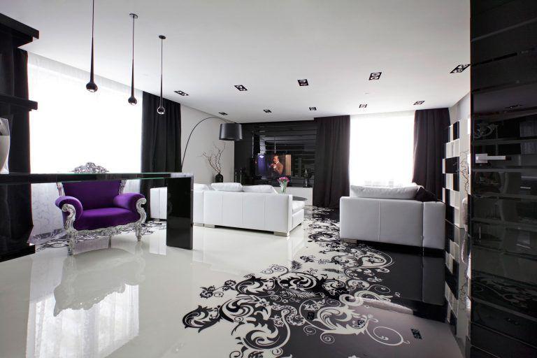 Чёрное и белое в дизайне