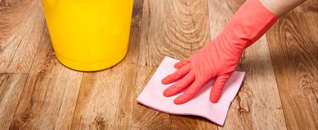 Чем помыть линолеум чтобы блестел в домашних условиях