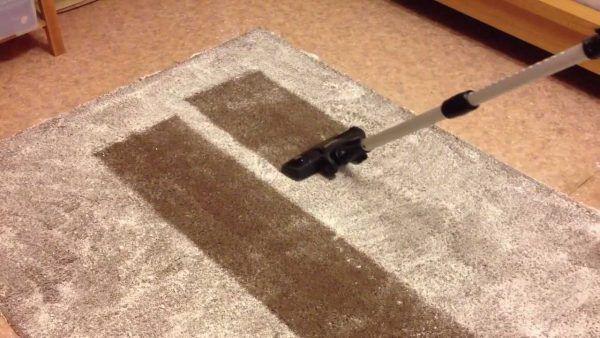 Как хорошо почистить палас в домашних условиях