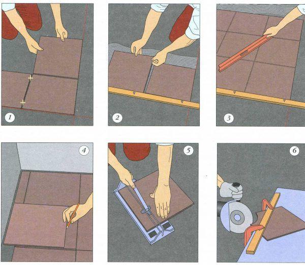 Инструкция для плитки на пол своими руками