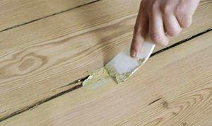 Шпаклевка древесная