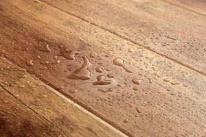 Попадание воды под слой покрытия