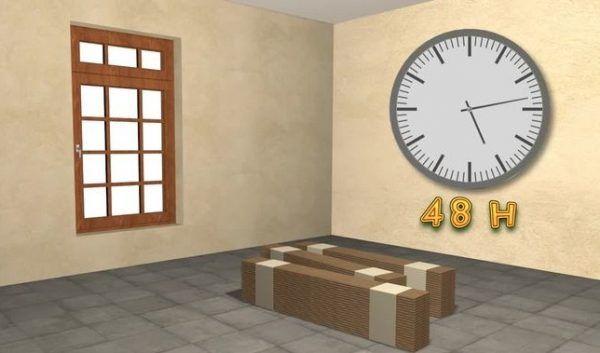 Ламинат нужно выдерживать минимум 48 часов