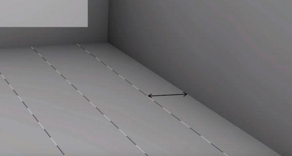 Рассчитывается ширина панелей