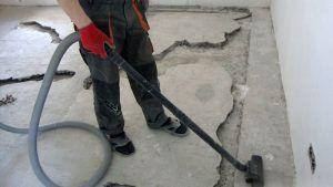 Шаг 1. Очистка поверхности основания