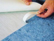 После резки внахлёст убрать обрезки верхней и нижней полос