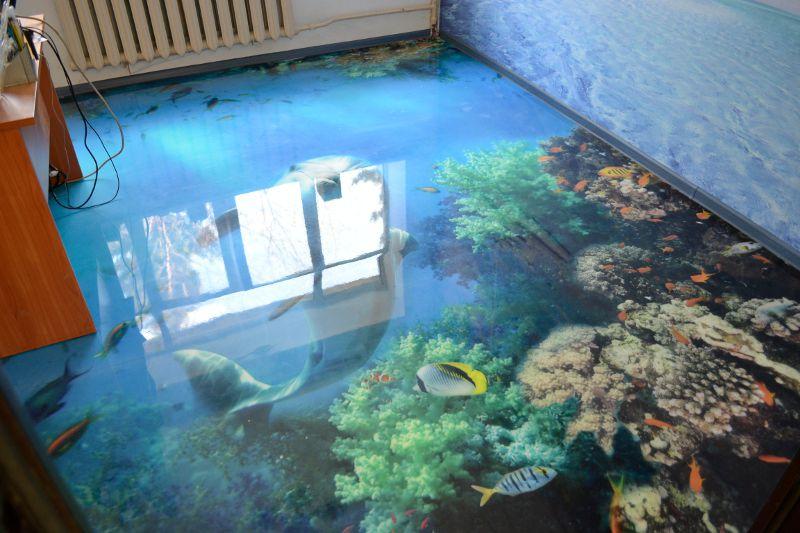 Наливные полы в квартире: фото и видео руководства по созданию
