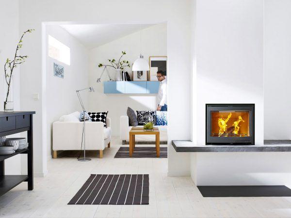 Белый пол в дизайне интерьера