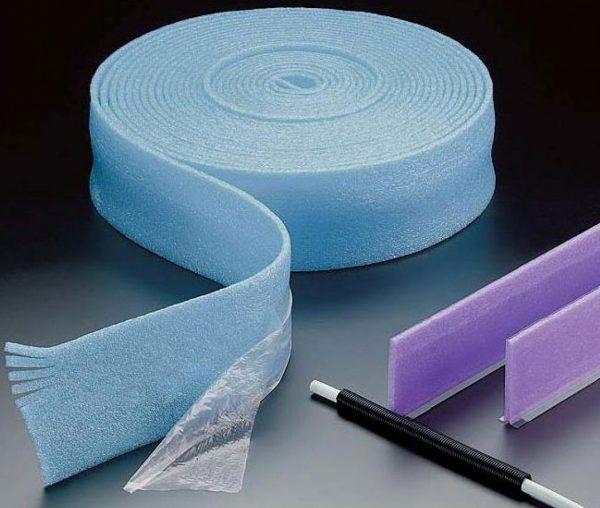 Демпферная лента для стяжки теплого пола Isolon, 8мм х 150мм х 50м
