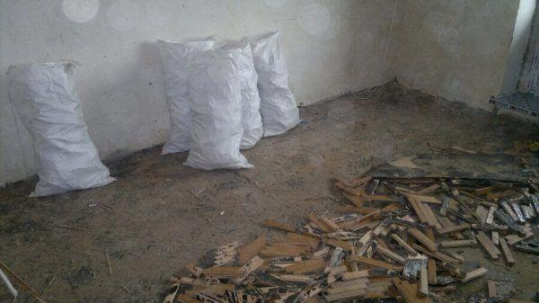 Для мусора удобно использовать мешки