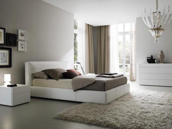 Еще один пример светлой спальни