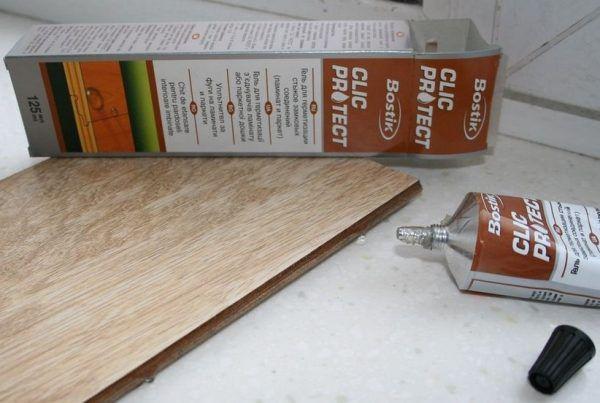Герметик для ламината Bostik Clic Protect