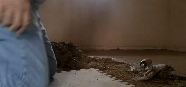 Нанесение второго слоя глины