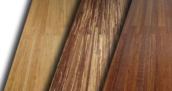 Некоторые варианты расцветки бамбуковых досок