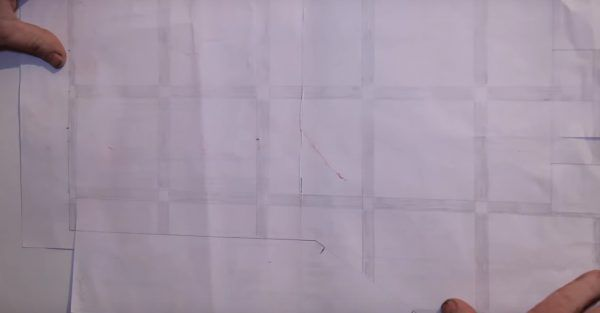 Пример схематического узора