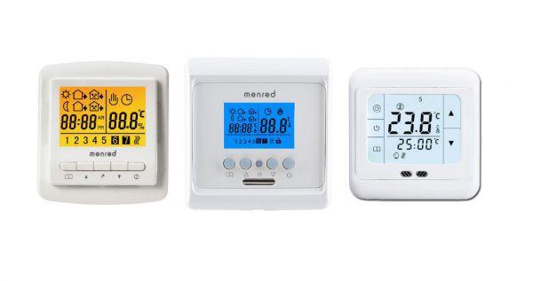 Терморегулятор — это устройство, контролирующее температуру теплого пола