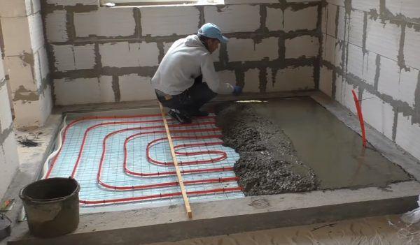 Устройство цементной стяжки