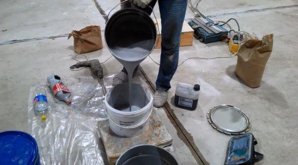 Приготовление герметика