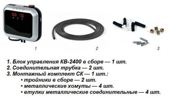 Капиллярный теплый пол Unimat Aqua (базовый комплект)