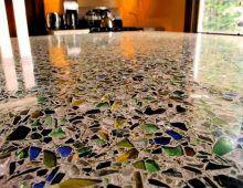 Бетонно-мозаичные полы