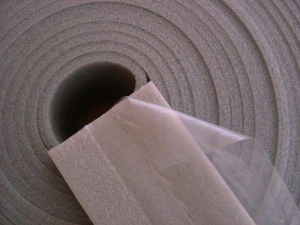Делаем теплый пол с использованием демпферной ленты