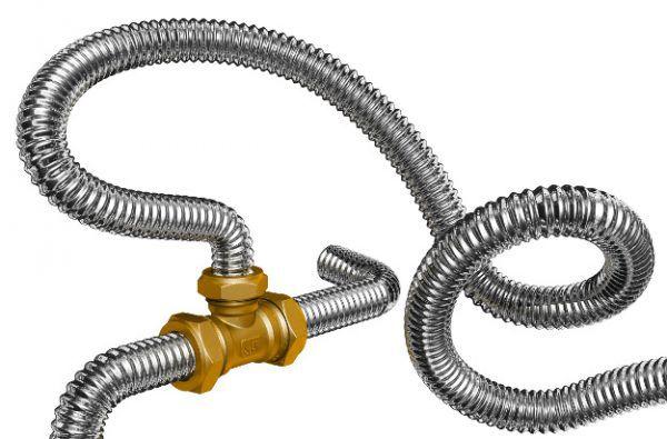 Гофрированные труба из нержавеющей стали