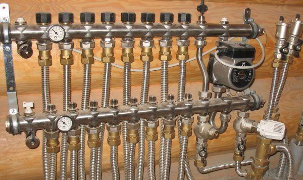 Гофрированные трубы
