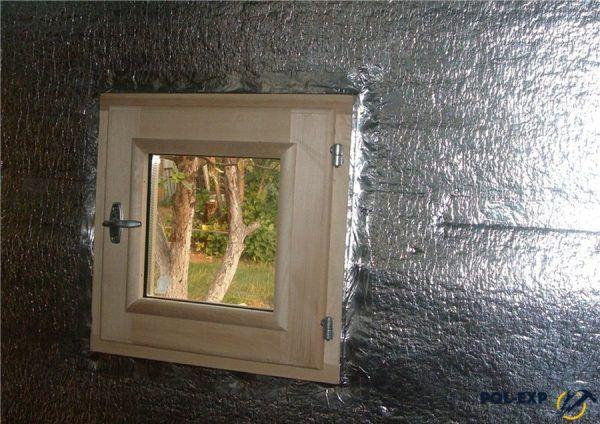 Использование фольгированного утеплителя в бане