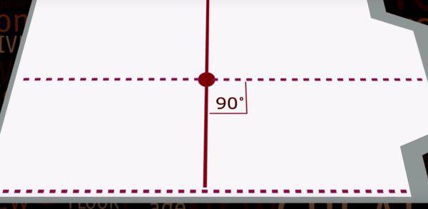 Как определить центр помещения