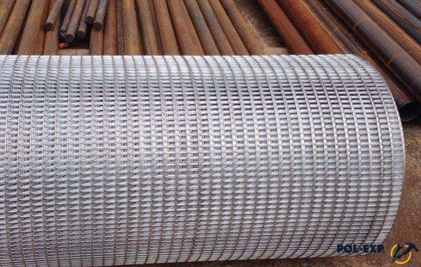 Металлическая армирующая сетка в рулоне