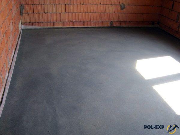 Пример бетонной стяжки