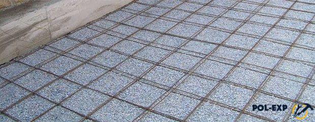 бетон пол сетка