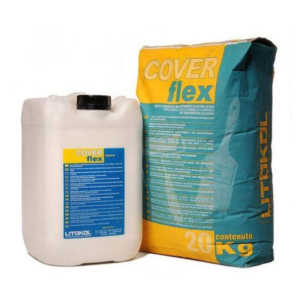 Смесь гидроизоляционная двухкомпонентная Litokol Coverflex