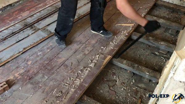 Существует много причин, по которым может потребоваться демонтаж деревянного пола