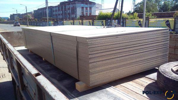 Цементно-стружечная плита - транспортировка