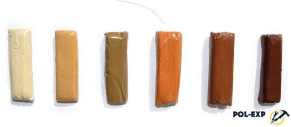 Цветовая палитра герметиков Абрис для дерева