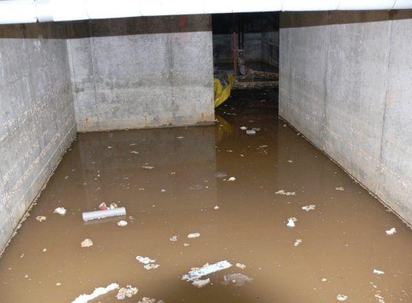 Вода в подвальном помещении - это проблема, знакомая многим