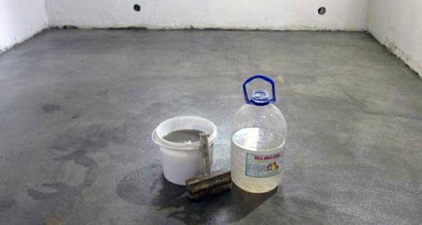 Жидкое стекло для гидроизоляции бетонного пола