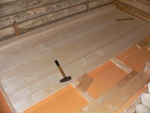 Монтаж на деревянную основу