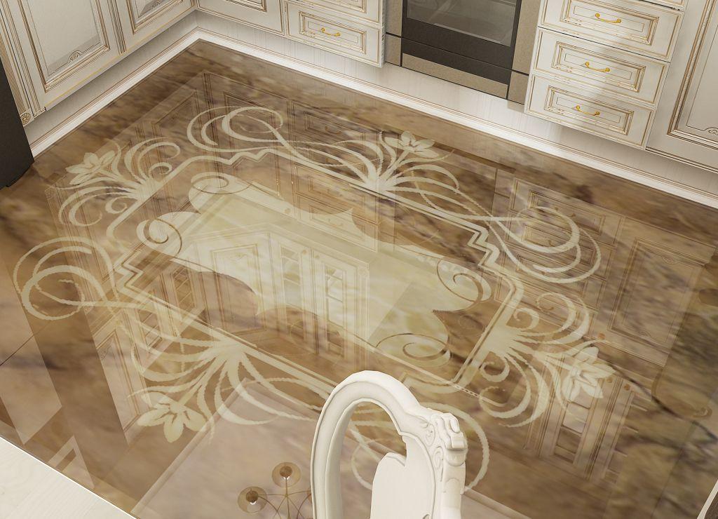Декоративный наливной пол: как сделать наливной пол 3d в квартире своими руками