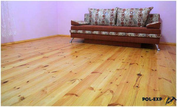 Деревянный пол в дизайне квартиры
