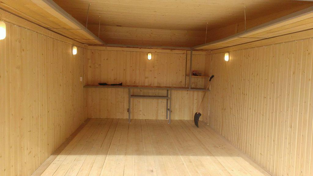 Деревянный пол в гараже: как сделать деревянные полы своими руками