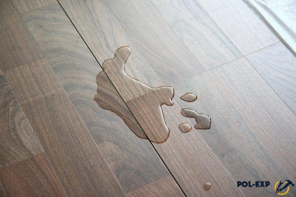 Если квартиру затопит, ламинат придется менять