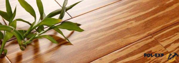 Есть несколько типов бамбукового паркета