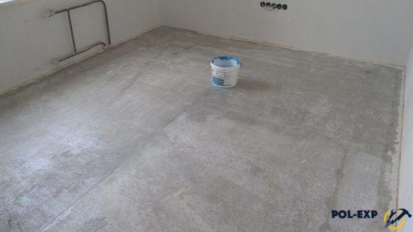 Финишное выравнивание бетонного пола
