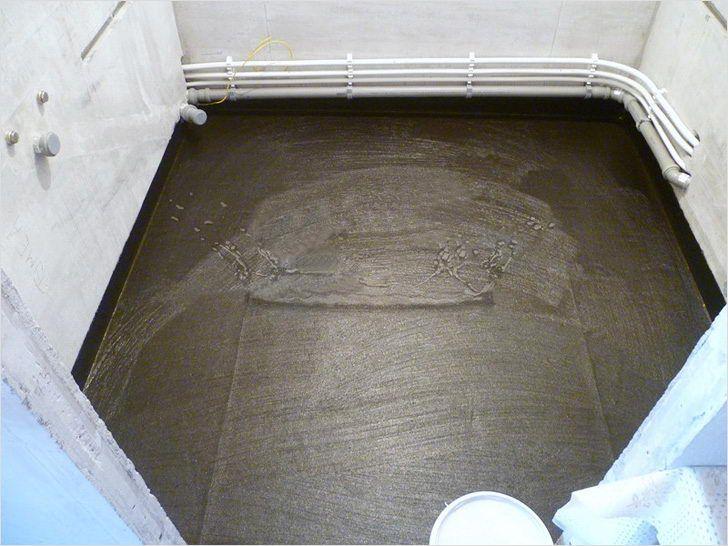 Гидроизоляция ванной комнаты под плитку что лучше наносить под кафель