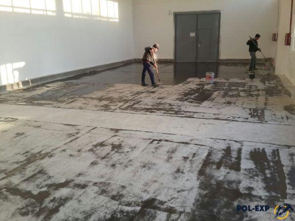 Как грунтуется бетонный пол