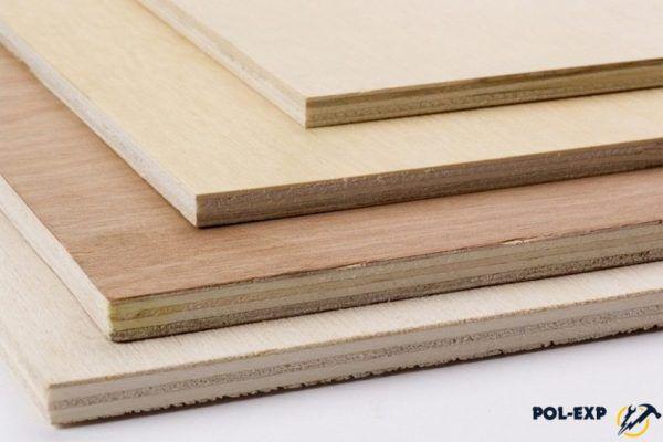 Лист фанеры состоит из 3-5 слоев древесного шпона