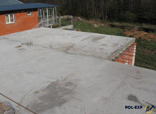 Монолитное бетонное перекрытие