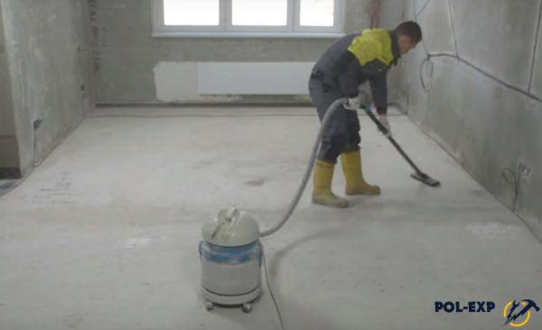 Основание пылесосится